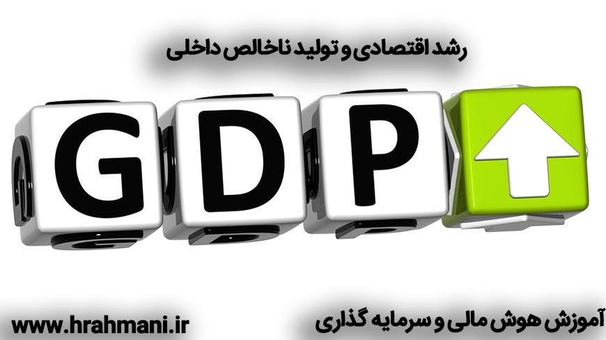 رشد اقتصادی و تولید ناخالص داخلی
